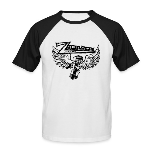 zopilote merch logo - Men's Baseball T-Shirt