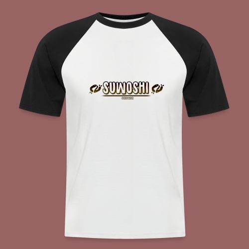 Suwoshi Streetwear - Mannen baseballshirt korte mouw