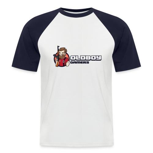 Oldboy Gamers Fanshirt - Kortermet baseball skjorte for menn