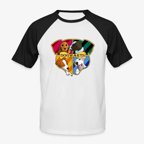 Dogwarts Logo - Men's Baseball T-Shirt