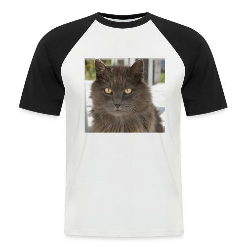 Kater Bärli - Männer Baseball-T-Shirt