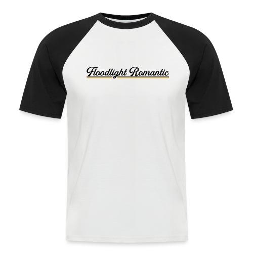 Floodlight Romantic - Mannen baseballshirt korte mouw