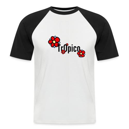 tr0pico - Mannen baseballshirt korte mouw