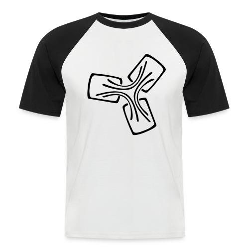 C3PB Logo - Männer Baseball-T-Shirt