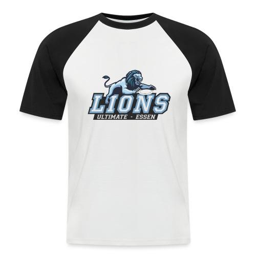 T-Shirt turnover - Männer Baseball-T-Shirt
