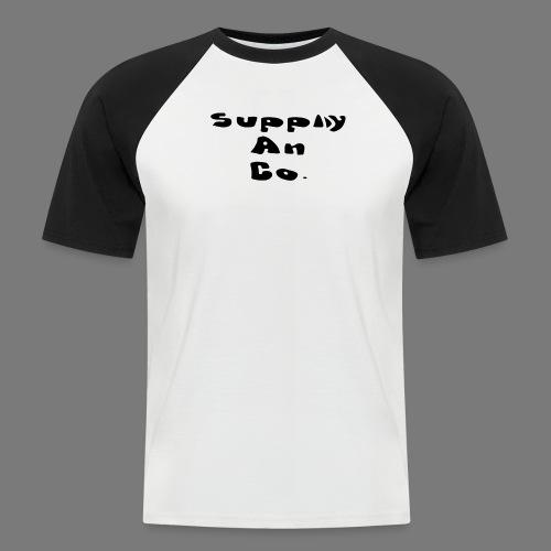design 2 png - Men's Baseball T-Shirt
