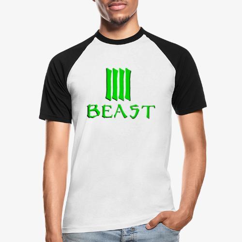 Beast Green - Men's Baseball T-Shirt