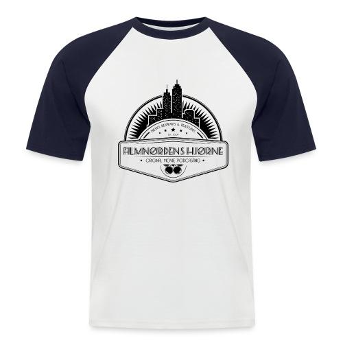 New York logo - Kortærmet herre-baseballshirt