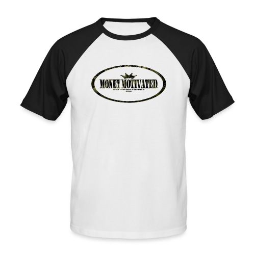 money motivated png - Männer Baseball-T-Shirt