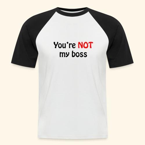 boss - Männer Baseball-T-Shirt