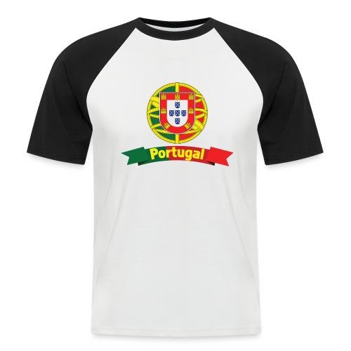 Portugal Campeão Europeu Camisolas de Futebol - Men's Baseball T-Shirt