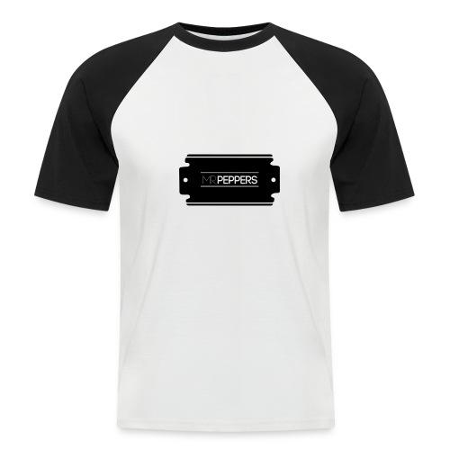 MR PEPPERS Logo classic - Männer Baseball-T-Shirt