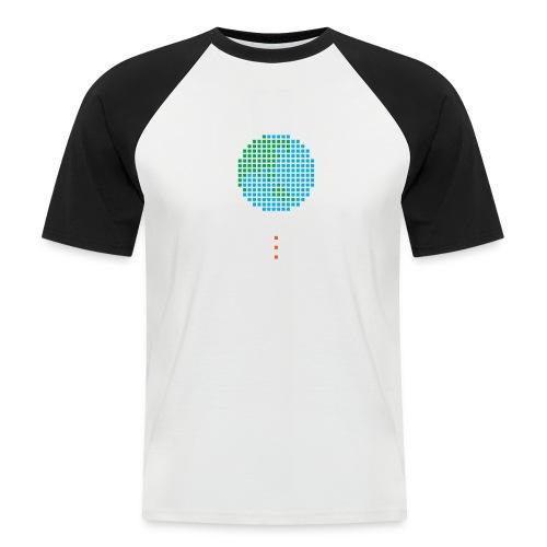 Earth Invaders - Männer Baseball-T-Shirt