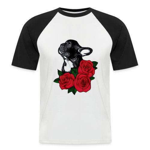 The French Bulldog Is So Famous - Men's Baseball T-Shirt