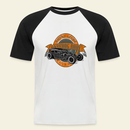Raredog Rods Logo - Kortærmet herre-baseballshirt