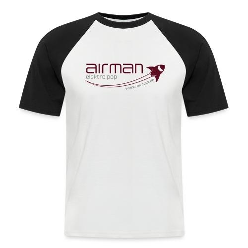 airman logo addons tshirt 2013 pfade - Männer Baseball-T-Shirt