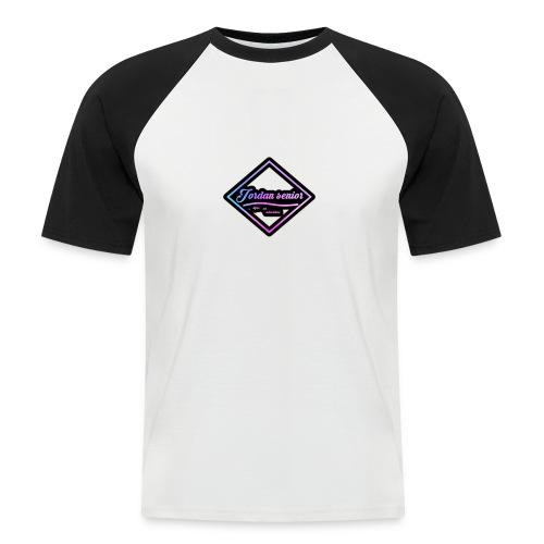 jordan sennior logo - Men's Baseball T-Shirt