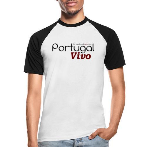 Portugal Vivo - T-shirt baseball manches courtes Homme
