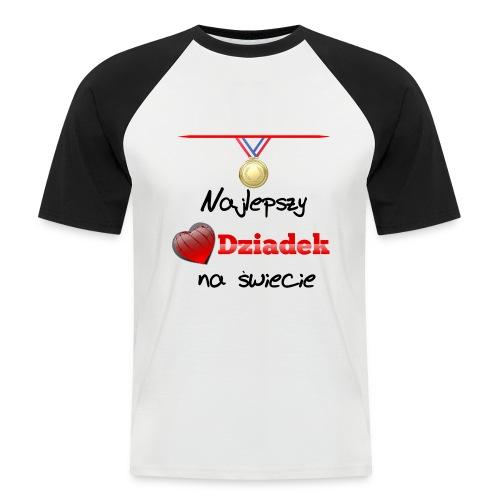 nadruk_rodzinne_01 - Koszulka bejsbolowa męska