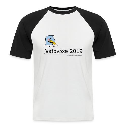 Schreibwoche 2019 (schwarze Schrift) - Männer Baseball-T-Shirt