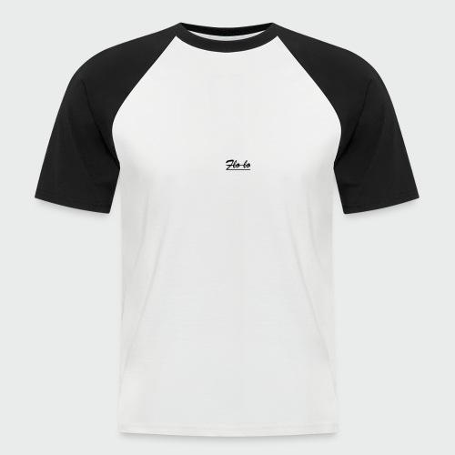 flolo durchgestrichen - Männer Baseball-T-Shirt