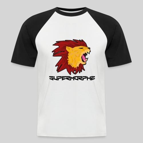 SuperMorphzLion - Männer Baseball-T-Shirt