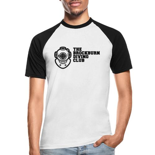 Brockburn Diving Club - Men's Baseball T-Shirt