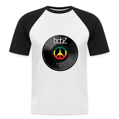 vinylbob - Kortærmet herre-baseballshirt