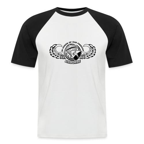 HAF tshirt back2015 - Men's Baseball T-Shirt
