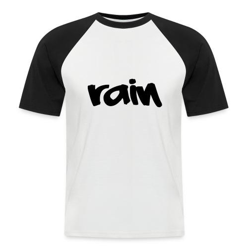 logo 3 Rain png - Mannen baseballshirt korte mouw