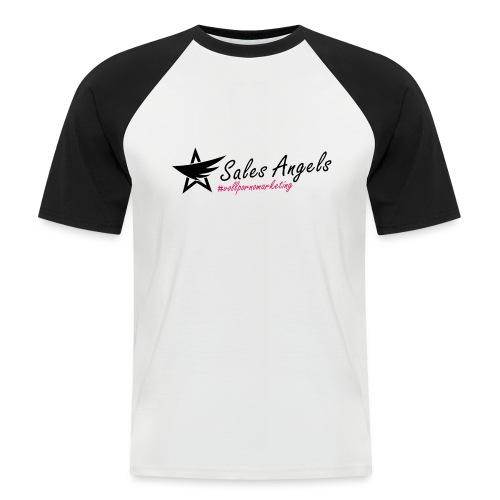 Salesangels HashTag V+ - Männer Baseball-T-Shirt
