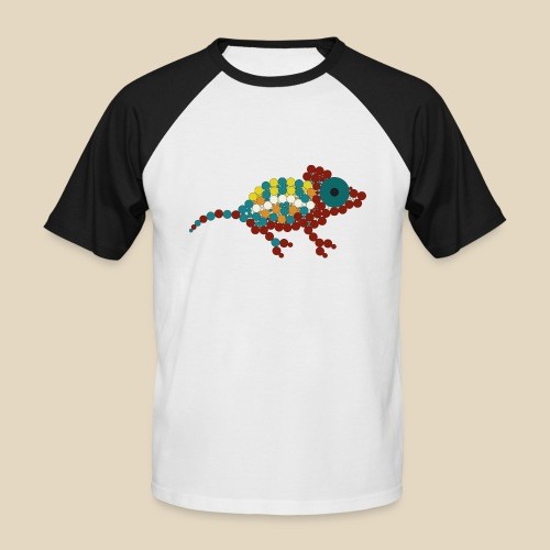 Chameleon - T-shirt baseball manches courtes Homme