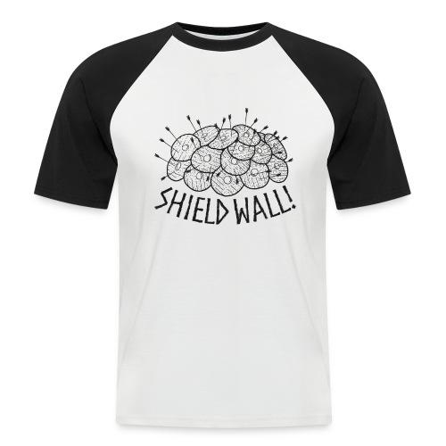 SHIELD WALL! - Men's Baseball T-Shirt