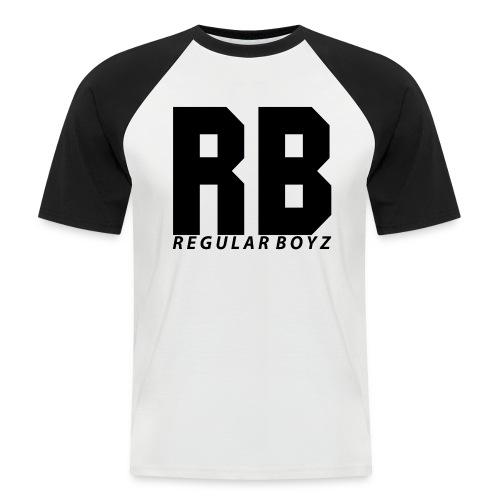 tshirt design regular boyz png - Männer Baseball-T-Shirt