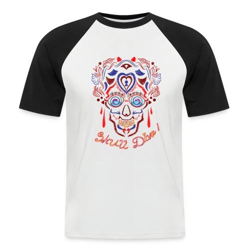 Skull Tattoo Art - Men's Baseball T-Shirt