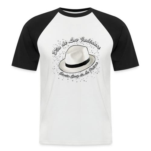 Dia de Los Indianos - Männer Baseball-T-Shirt