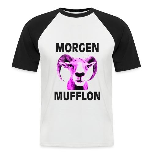 morgenmufflon - Männer Baseball-T-Shirt