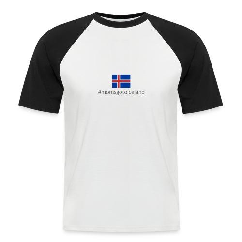 Iceland - Men's Baseball T-Shirt