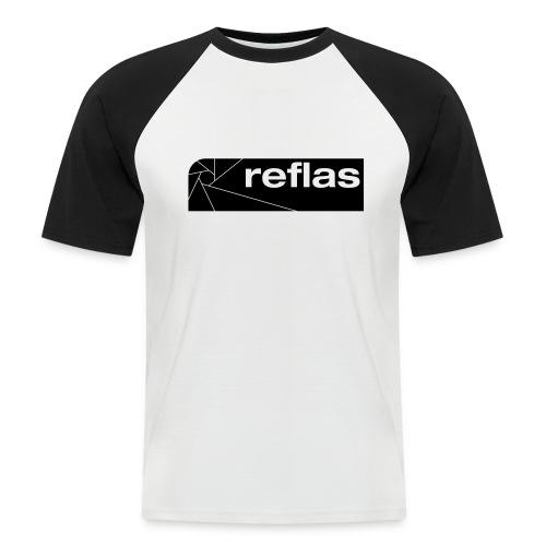 Reflas Clothing Black/Gray - Maglia da baseball a manica corta da uomo