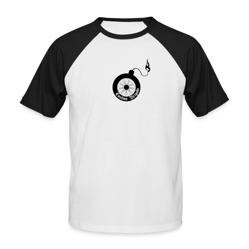 roue bombe - T-shirt baseball manches courtes Homme