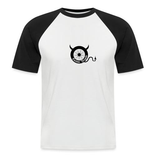 roue devil - T-shirt baseball manches courtes Homme