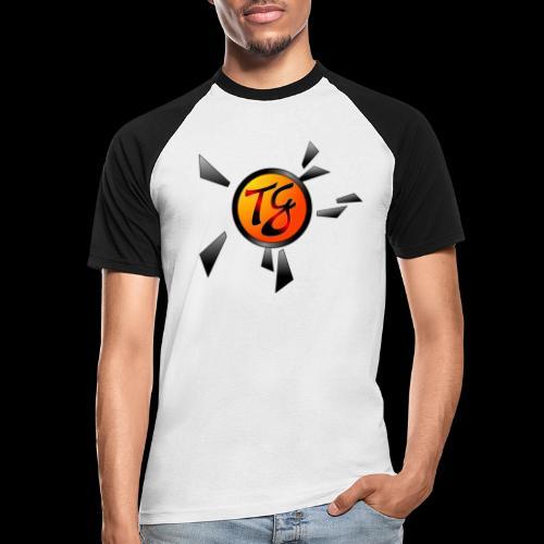 Timmy G orange - T-shirt baseball manches courtes Homme