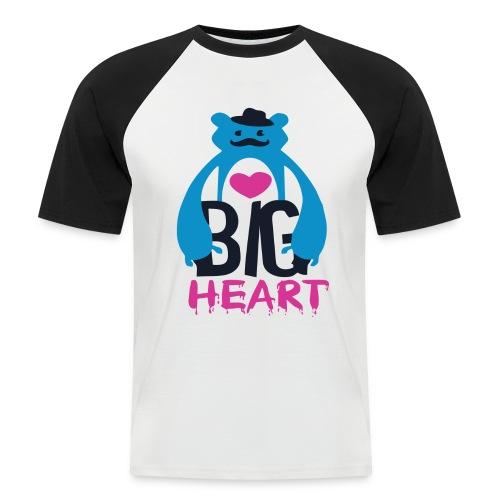 Big Heart Monster Hugs - Men's Baseball T-Shirt