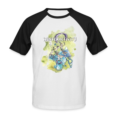 WINTERACTIVITY - T-shirt baseball manches courtes Homme