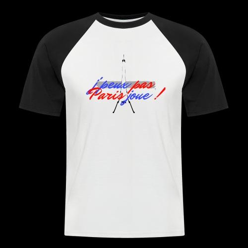 j'peux pas Paris joue - T-shirt baseball manches courtes Homme