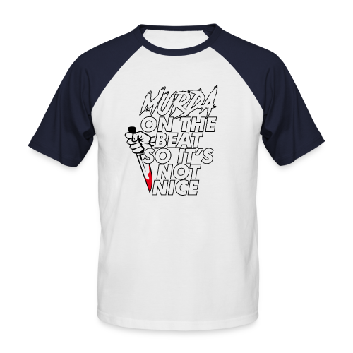 Murda on the beat - T-shirt baseball manches courtes Homme