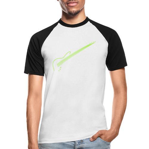 E-Bass - Männer Baseball-T-Shirt