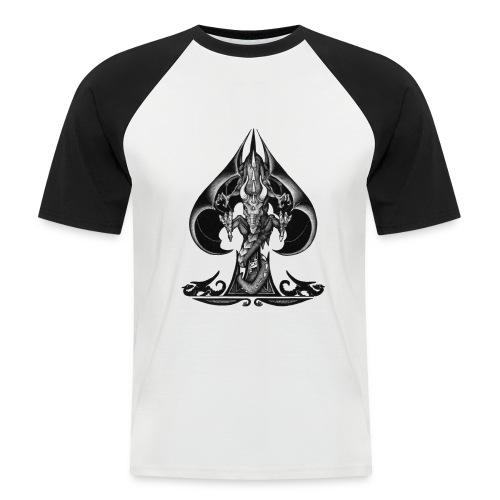 As de pique Dragon - T-shirt baseball manches courtes Homme