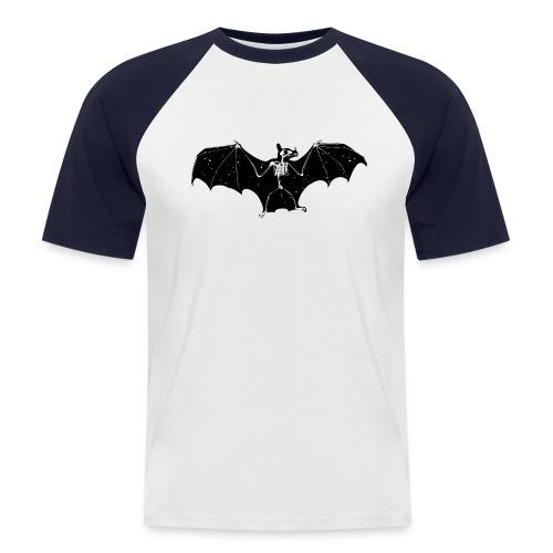 Bat skeleton #1 - Men's Baseball T-Shirt