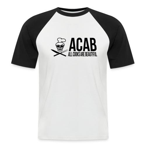 acablang - Männer Baseball-T-Shirt